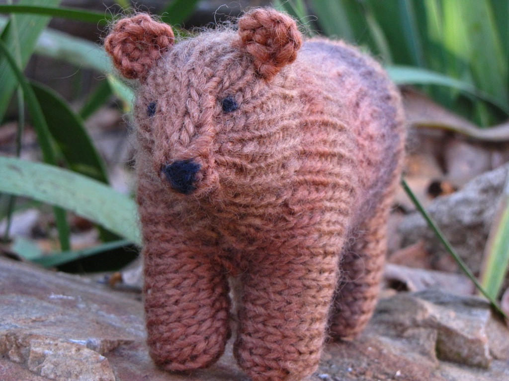 Best Of Grizzly Bear toy Knitting Pattern and A Giveaway Natural Knitted Bear Pattern Of Brilliant 42 Photos Knitted Bear Pattern