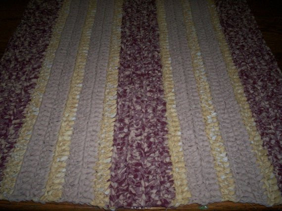 Best Of Hand Crocheted Rag Rug by Westvirginiamade On Etsy Hand Crochet Rug Of Contemporary 41 Models Hand Crochet Rug