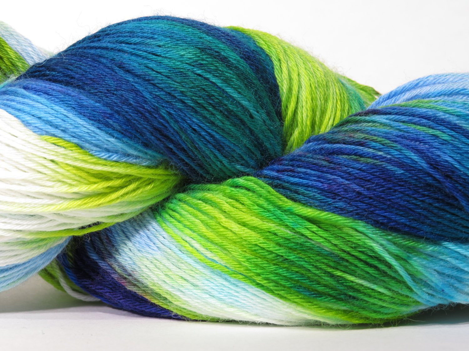 Hand Dyed Yarn e of a Kind Variegated Deviant 150g