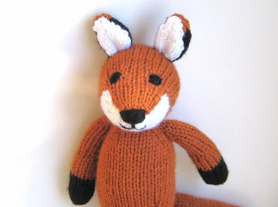 Best Of Hand Knitted Fox Knit by Request Stuffed Animal soft by Knit Stuffed Animals Of Beautiful 47 Pics Knit Stuffed Animals
