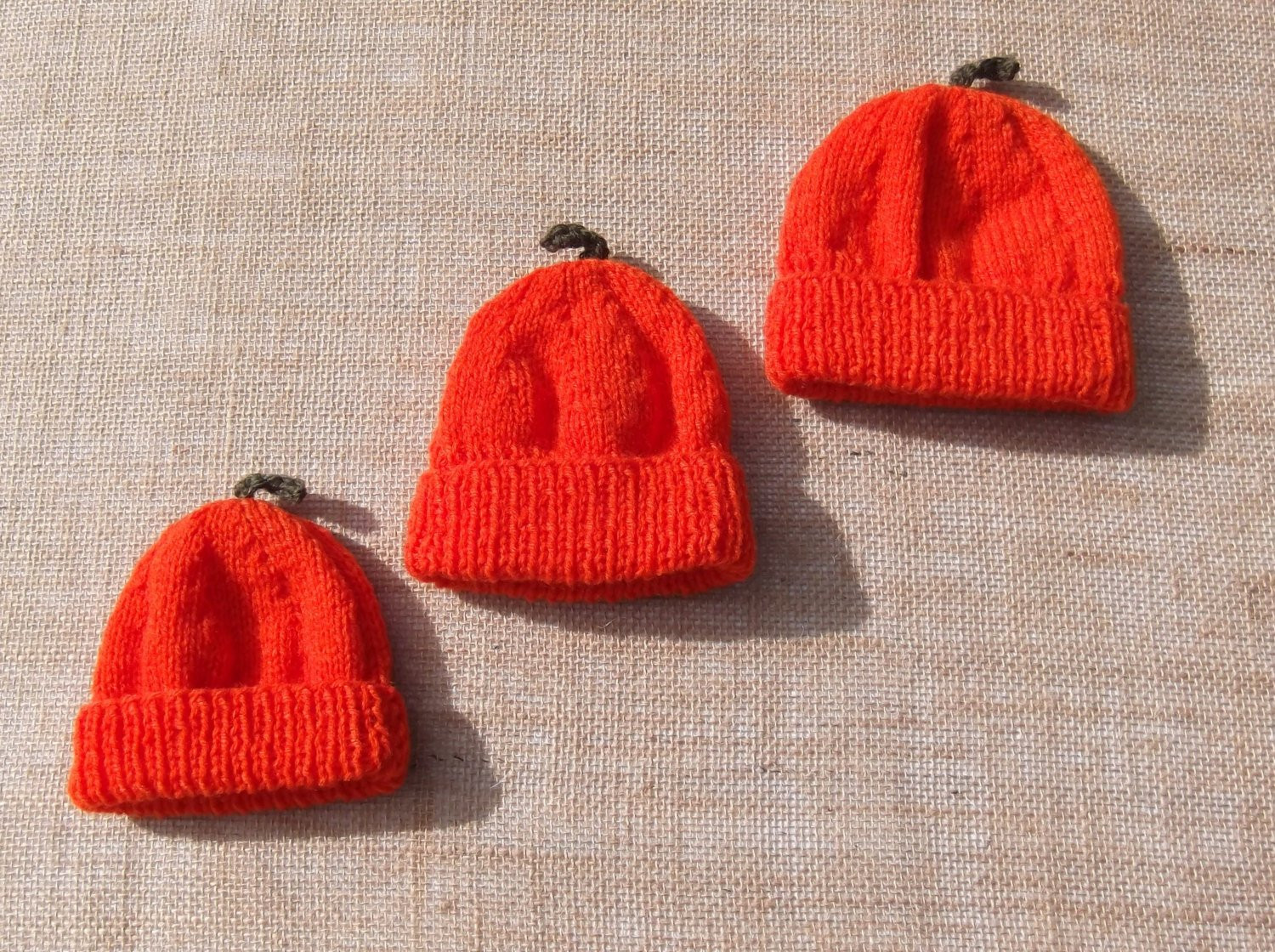 Best Of Hand Knitted New Baby Pumpkin Beanie Hat Thanks Giving Gift Knitted Pumpkin Hat Of Marvelous 40 Ideas Knitted Pumpkin Hat