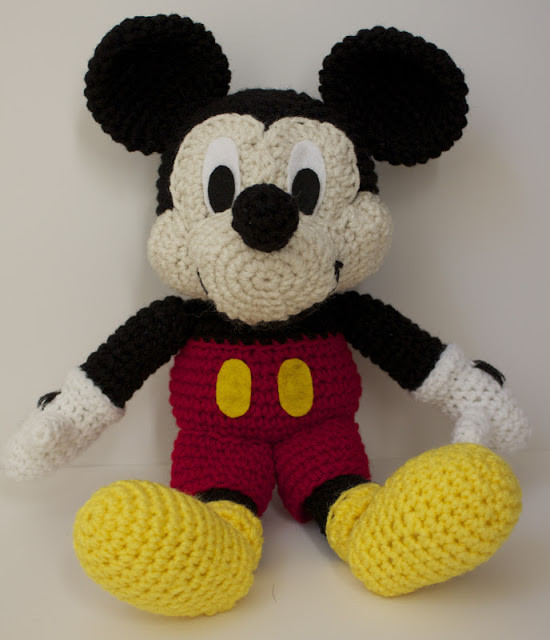 Best Of Handmade by Meg K Crocheted Mickey Mouse [pattern Review] Mikey Crochet Of New 49 Images Mikey Crochet