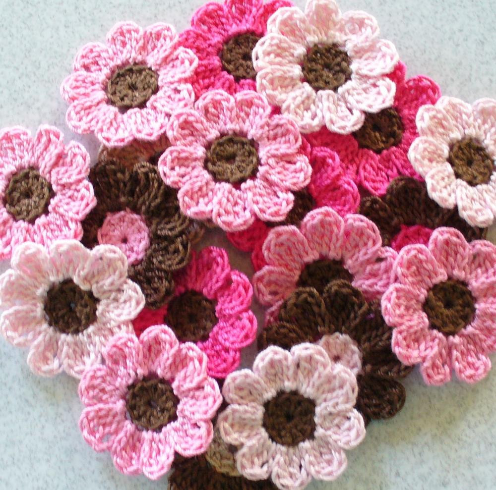Best Of Handmade Crochet Flowers Appliques Embellishments Pink Handmade Crochet Of Delightful 40 Pics Handmade Crochet