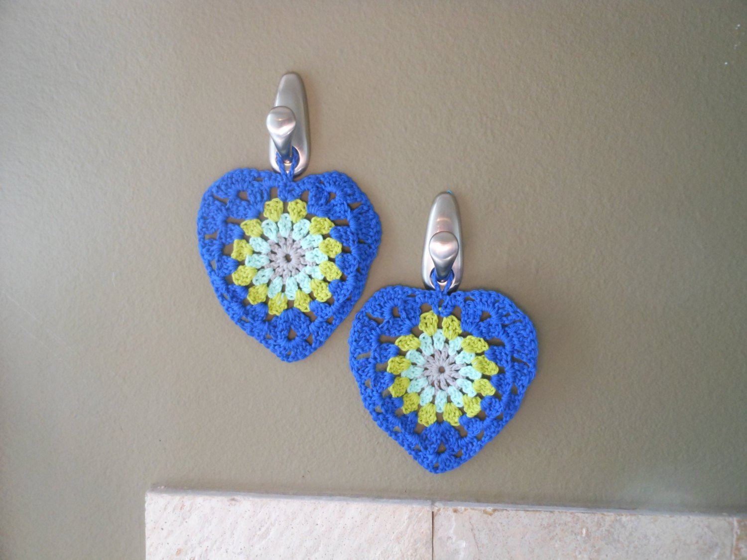 Best Of Hanging Wall Decor Crochet Kitchen Decor by Kingstitchstudios Crochet Decor Of Brilliant 47 Pics Crochet Decor