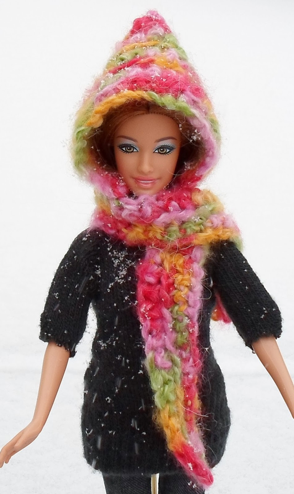 Best Of Happier Than A Pig In Mud Easy Hooded Scarf for Barbie Crochet Hooded Scarf Of Wonderful 48 Images Crochet Hooded Scarf