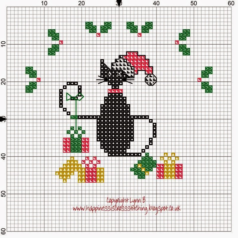 Best Of Happiness is Cross Stitching Mini Cat Cross Stitch Freebies Christmas Cross Stitch Patterns Of Charming 48 Pics Christmas Cross Stitch Patterns