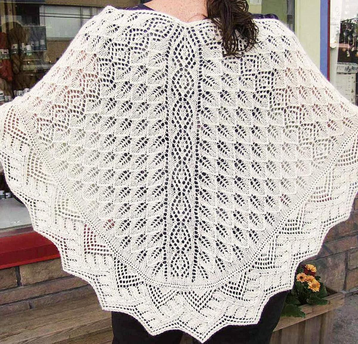 Best Of Harbour Lights Lace Shawl Knitting Kit Knit Lace Shawl Of Contemporary 41 Pics Knit Lace Shawl