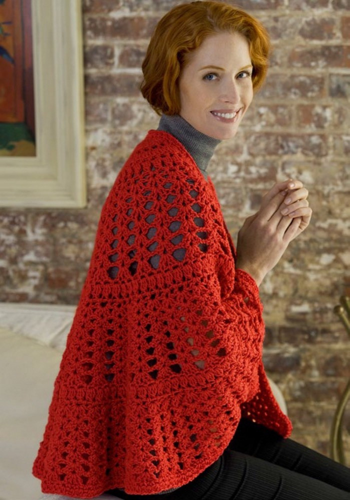 Best Of Have A Heart Shawl In Red Heart Super Saver Jumbo solids Red Heart Yarn Crochet Patterns Of Awesome 47 Pics Red Heart Yarn Crochet Patterns