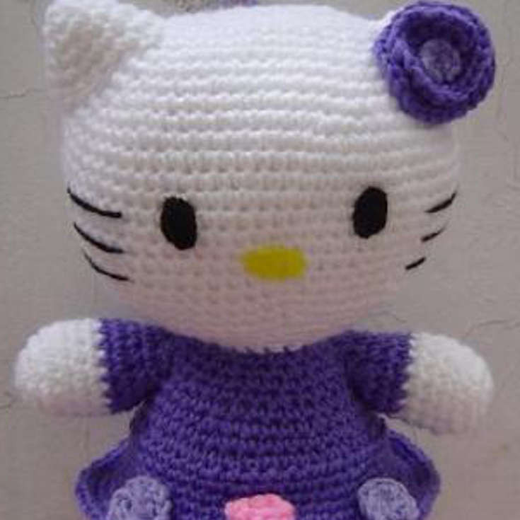 Best Of Hello Kitty with Purple Dress and Kitty Bow Pattern • Wixxl Hello Kitty Crochet Pattern Of Luxury 47 Images Hello Kitty Crochet Pattern