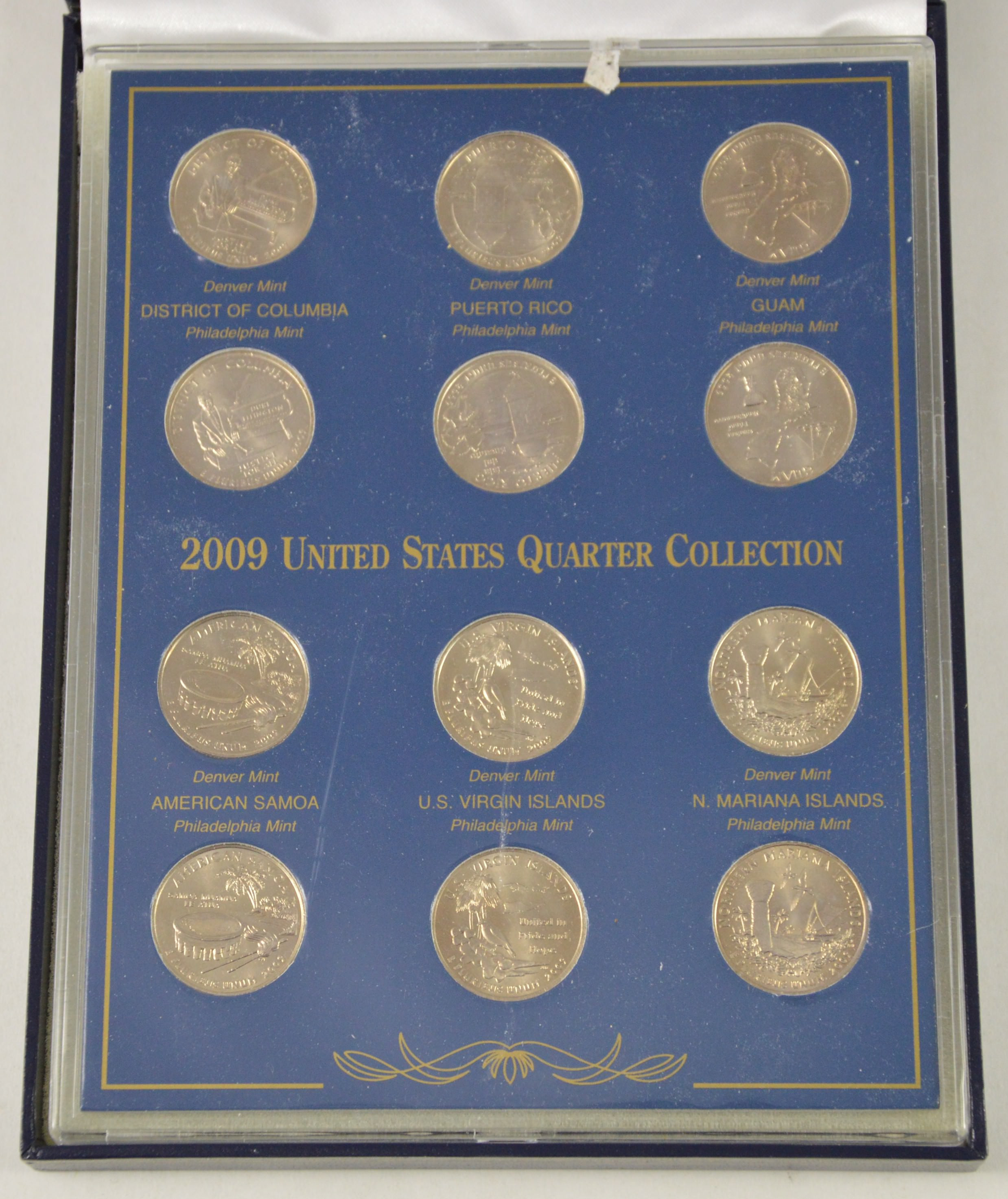 Best Of Historic Coin Collection 12 2009 P & D United States Us State Quarter Collection Of Charming 49 Ideas Us State Quarter Collection