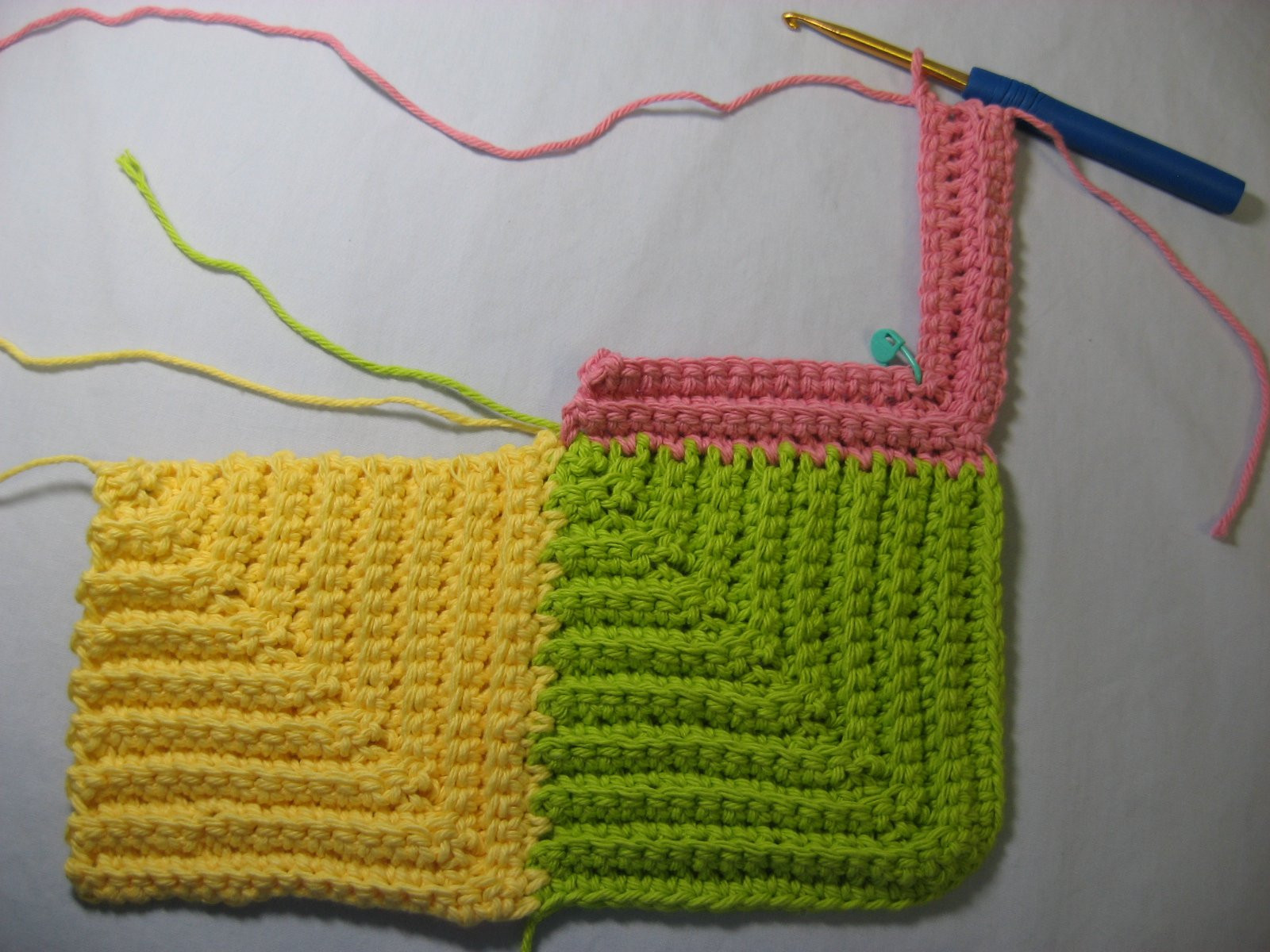 Best Of Hooked On Needles Mitered Square Crocheted Baby Blanket Crochet Blanket Squares Of Incredible 46 Models Crochet Blanket Squares
