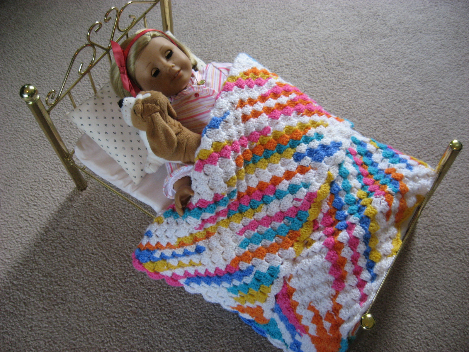 Best Of Hooked On Needles More Summertime Crocheting A Colorful Baby Doll Blankets Of Adorable 37 Images Baby Doll Blankets