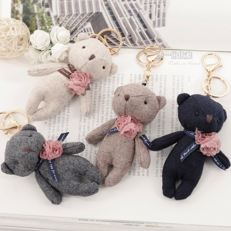 Best Of Hot Sale 11cm Lovely Plush Teddy Bear Key Chain Small Stuffed Bears for Sale Of New 48 Ideas Stuffed Bears for Sale