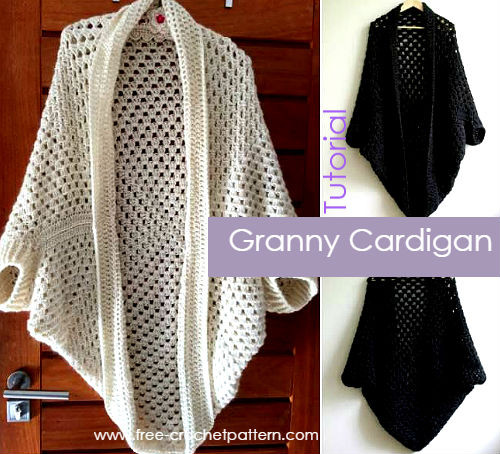Best Of How to Crochet A Granny Square Cardigan Video Tutorial Crochet Cocoon Cardigan Of Charming 45 Pics Crochet Cocoon Cardigan