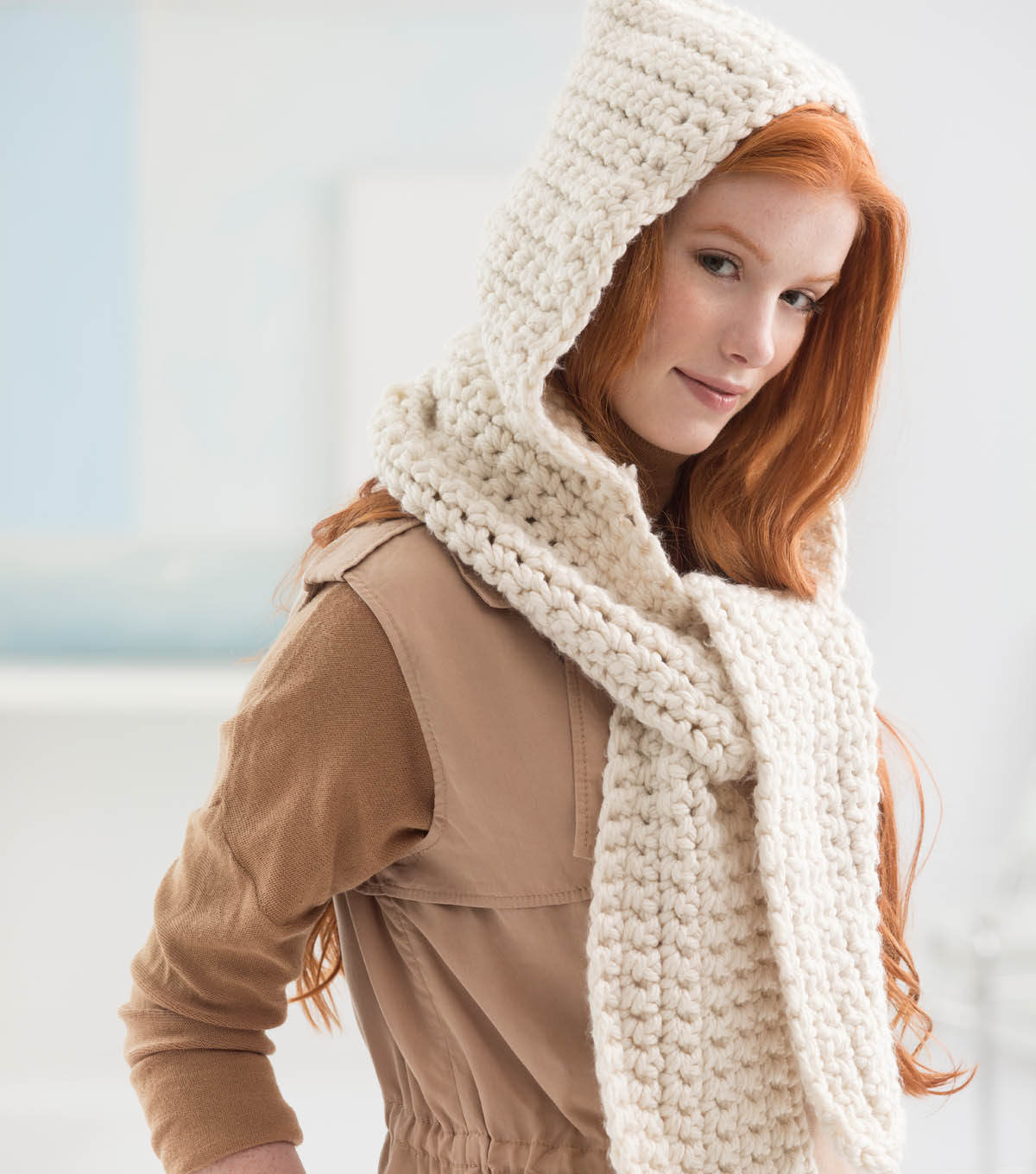 Best Of How to Crochet A Scarf for Beginners Step by Step Slowly Crochet Hooded Scarf Of Wonderful 48 Images Crochet Hooded Scarf