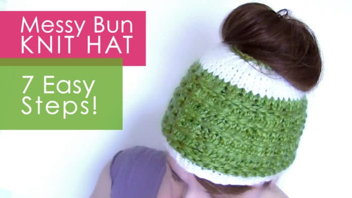Best Of How to Knit A Messy Bun Hat Pattern In 7 Easy Steps with Knitted Messy Bun Hat Of Luxury 50 Models Knitted Messy Bun Hat