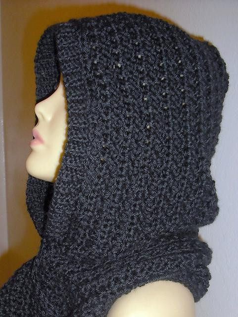 Best Of How to Knit Hooded Scarf Pattern Of Brilliant 43 Pics Hooded Scarf Pattern