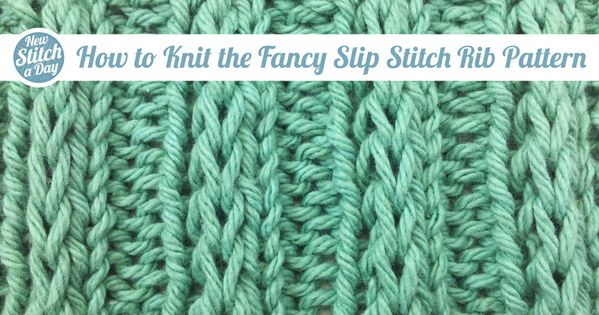 Best Of How to Knit the Fancy Slip Stitch Rib Pattern Slip Knit Of Incredible 44 Ideas Slip Knit