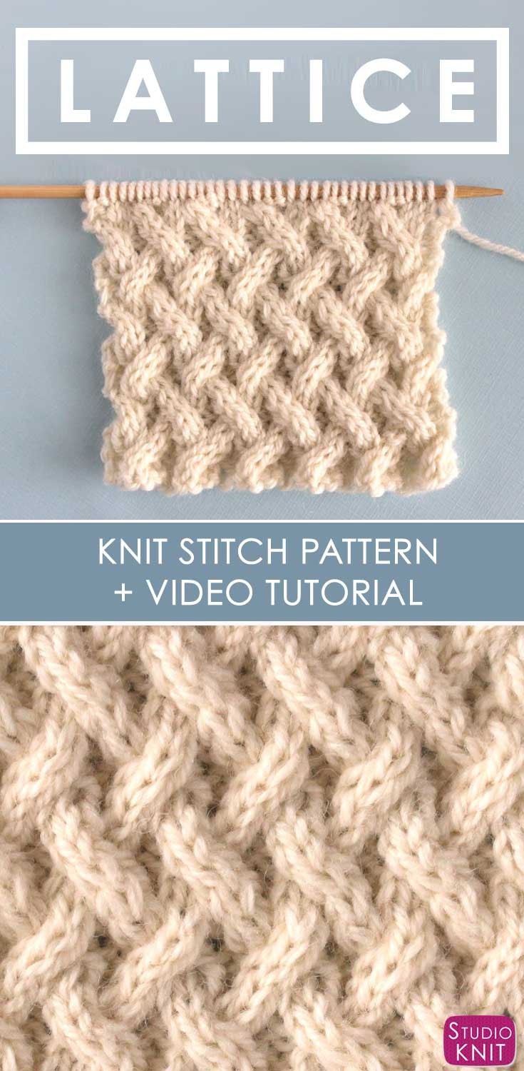 Best Of How to Knit the Lattice Cable Stitch Pattern Us227 Knitting Sites Of Great 40 Ideas Knitting Sites