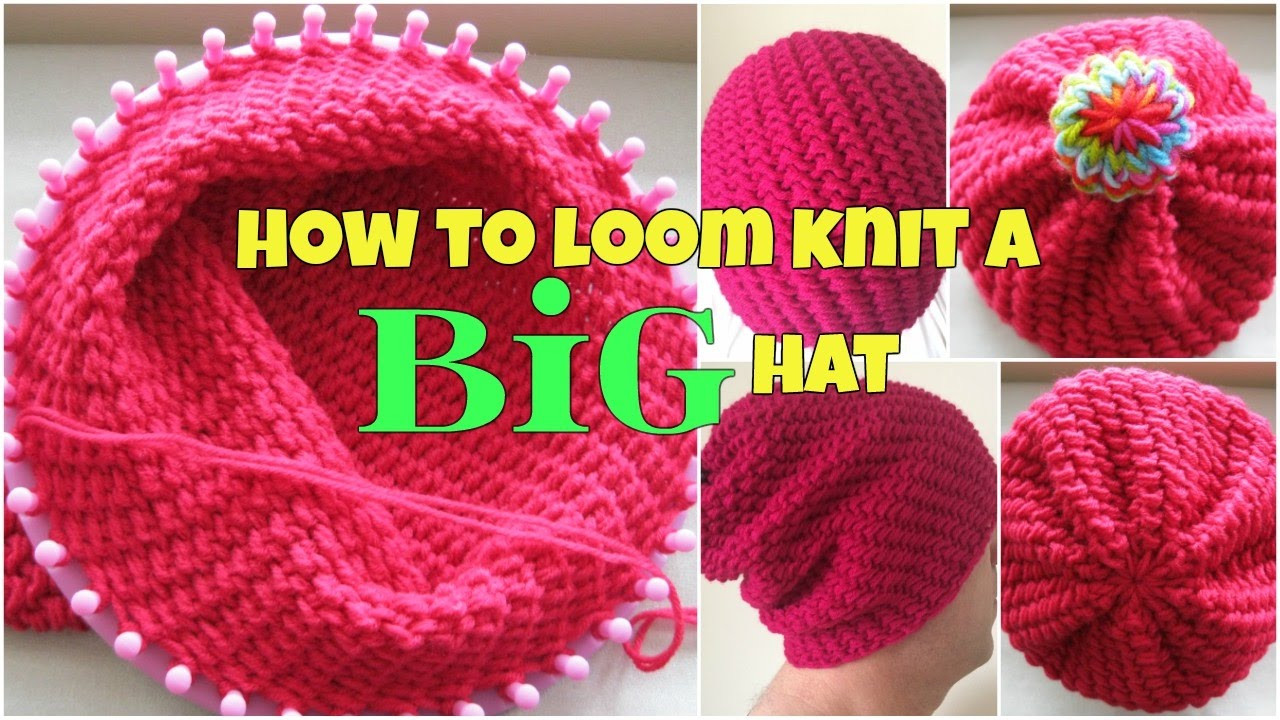 Best Of How to Loom Knit A Big Hat for Beginners Loom Knitting for Beginners Of Brilliant 40 Ideas Loom Knitting for Beginners