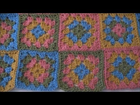 How to Sew Crochet Squares To her
