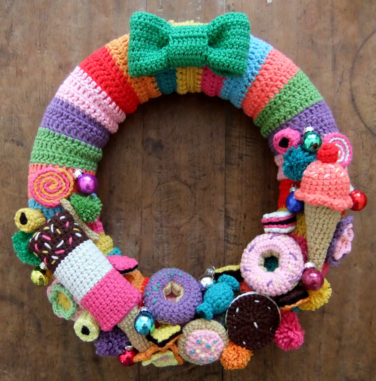 Best Of I Love buttons by Emma Crochet Christmas Wreath I Love Crochet Of New 48 Ideas I Love Crochet