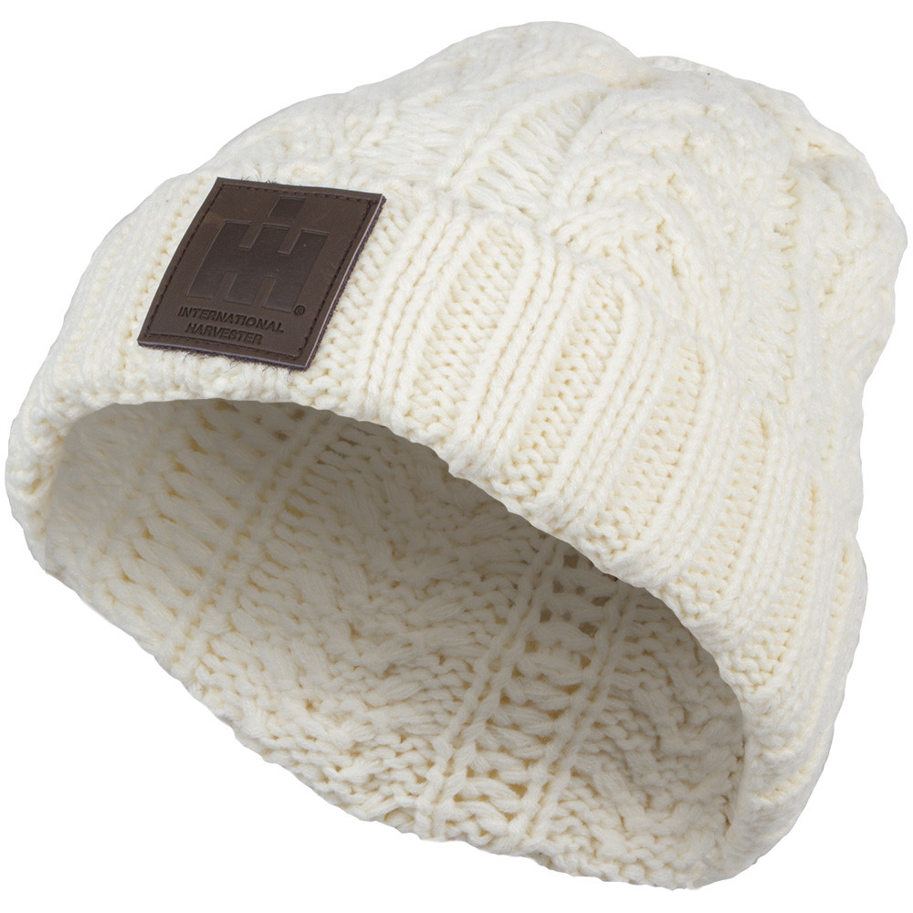 Best Of Ih Women S Cable Knit Hat with Leather Patch Shopcaseih Ladies Knitted Hats Of Adorable 50 Pictures Ladies Knitted Hats
