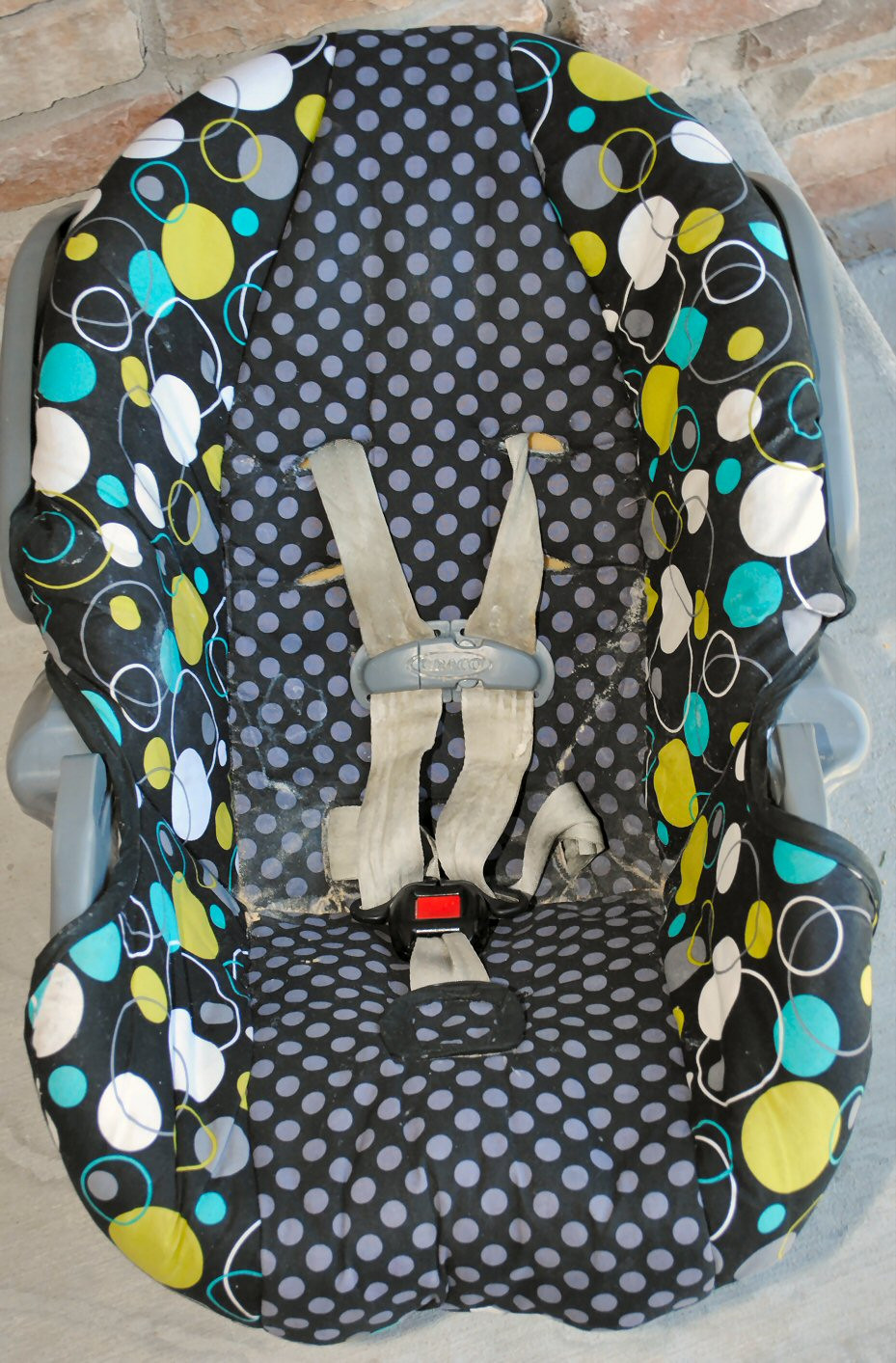 Infant Toddler Car Seat Cover Tutorial How to Cover a