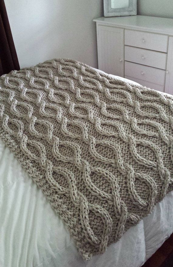 Best Of Infinity Cable Knit Blanket Made to order Crochet Cable Blanket Of Lovely 46 Models Crochet Cable Blanket