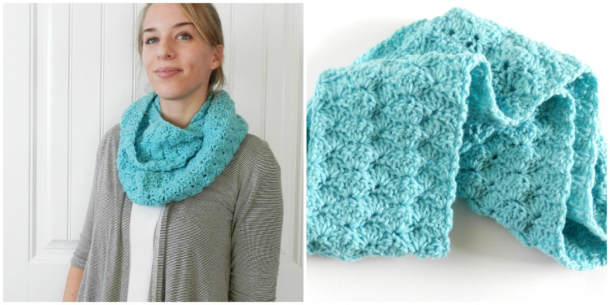 Best Of Infinity Scarf Crochet Pattern Free Infinity Scarf Pattern Of Marvelous 48 Images Free Infinity Scarf Pattern