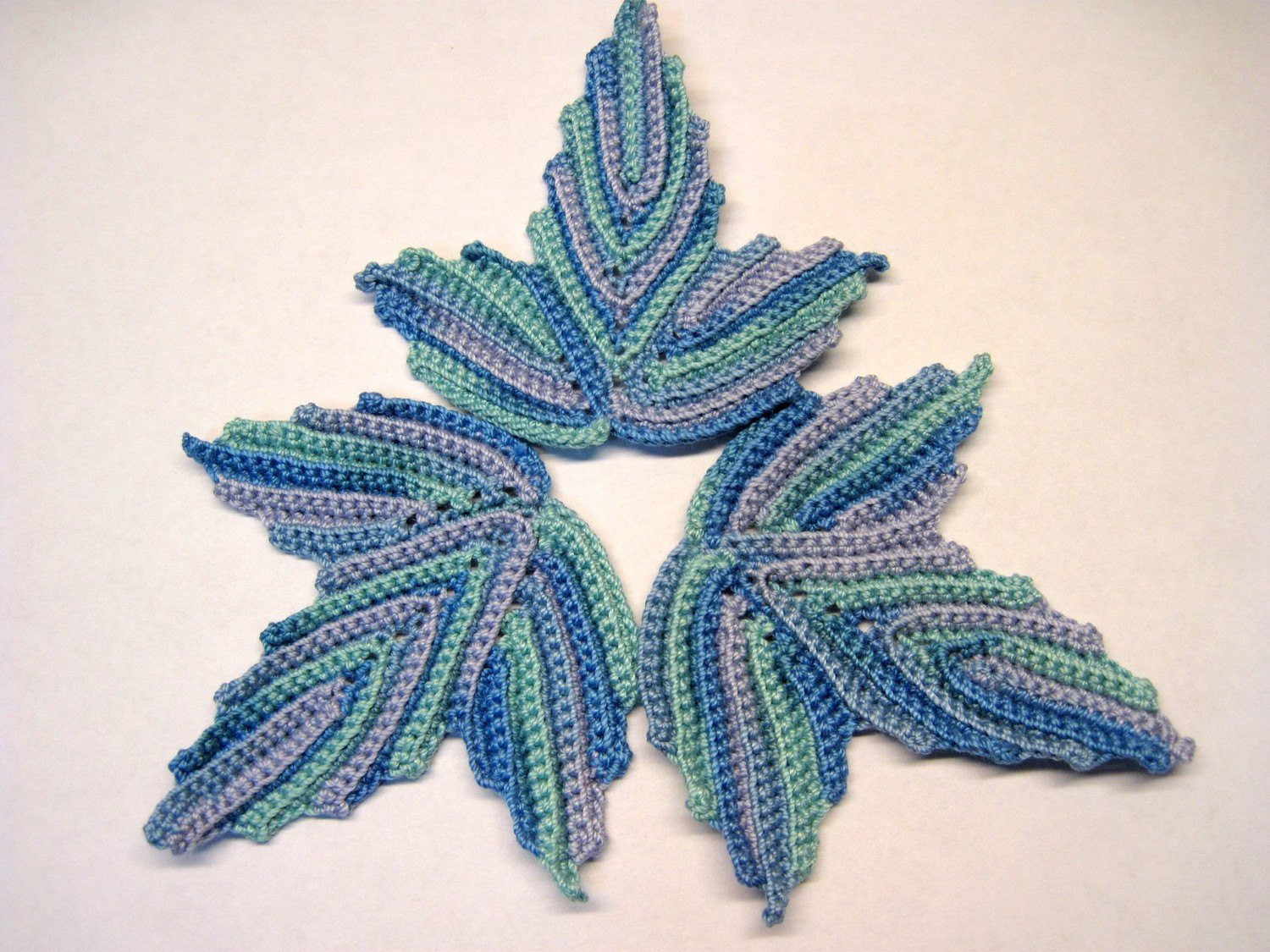 irish lace crochet motif
