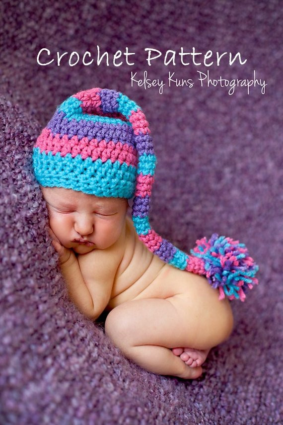 Best Of Items Similar to Crochet Pattern 26 Newborn Elf Pixie Baby Elf Hat Of Lovely 47 Ideas Baby Elf Hat