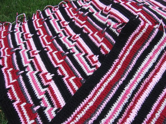 Items similar to Navajo afghan on Etsy