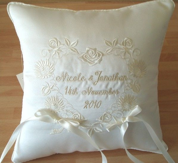 Best Of Ith Wedding Pillow Wedding Embroidery Designs Of Wonderful 48 Photos Wedding Embroidery Designs