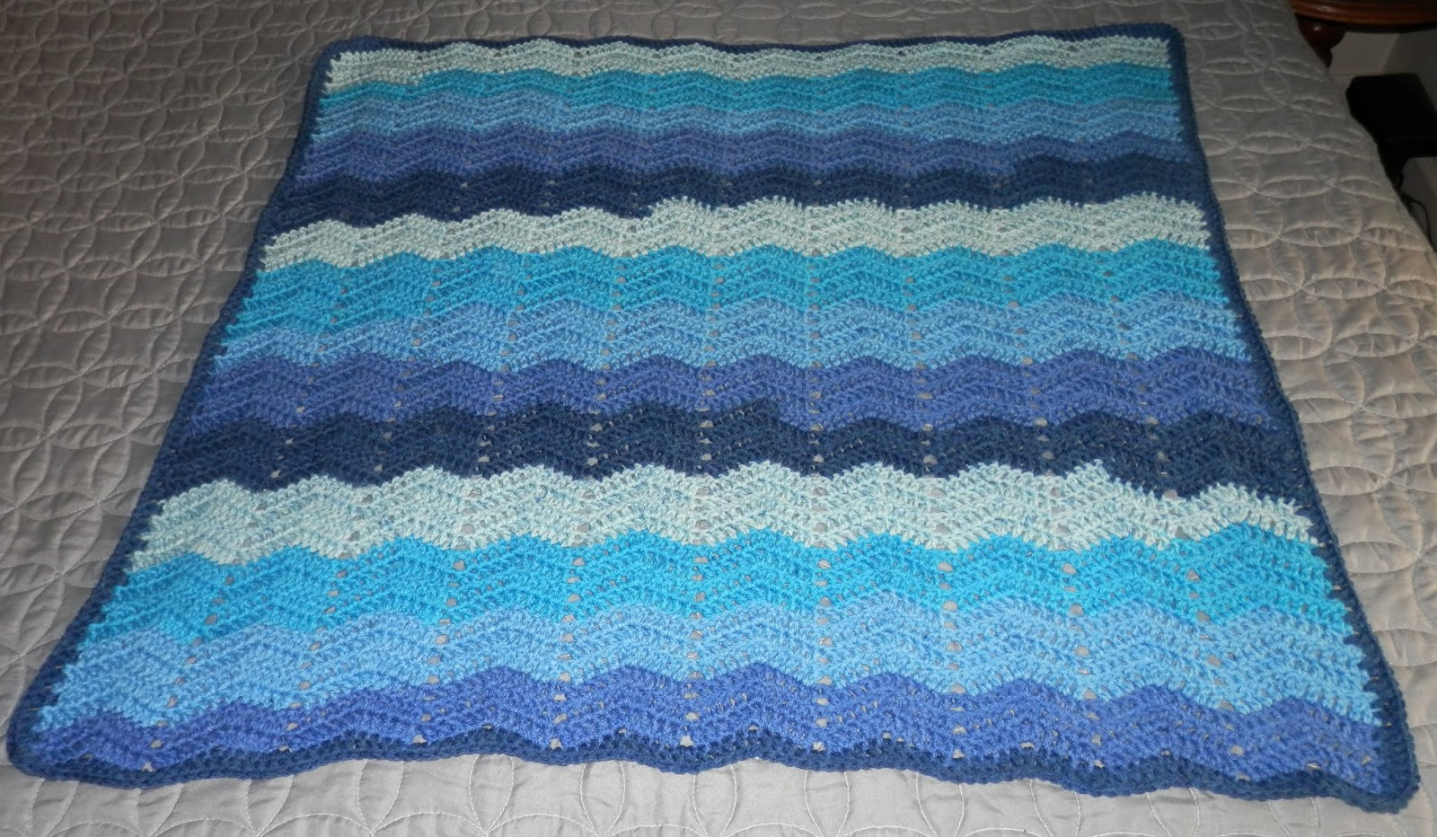 blueberry cheesecake baby blanket