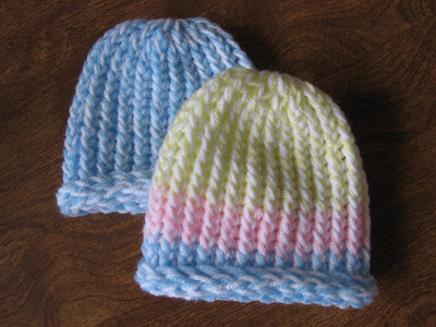 Best Of Kelley S Yarns Lickety Split Loom Knit Newborn Hats Making A Hat On A Loom Of Attractive 43 Pics Making A Hat On A Loom