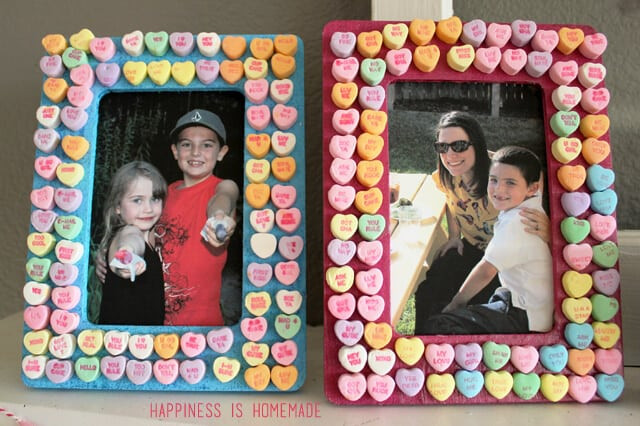 Best Of Kids Craft Candy Heart Frames Happiness is Homemade Picture Frame Crafts for Kids Of Adorable 48 Models Picture Frame Crafts for Kids