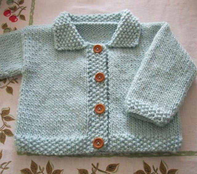 Best Of Knit Baby Boy Sweater Pattern for Free Easy Knit Baby Sweater Of Fresh 41 Ideas Easy Knit Baby Sweater