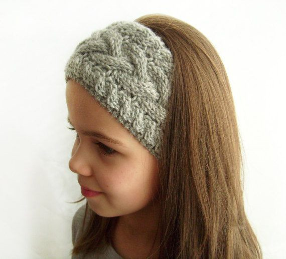 Best Of Knit Headband Ear Warmer Grey Cable Knit Headband Knit Winter Headband Of Charming 42 Pictures Knit Winter Headband