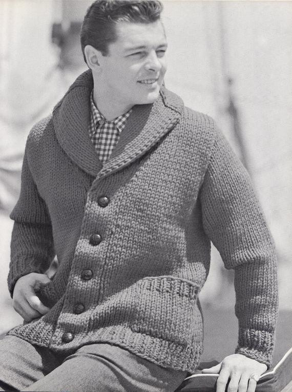 Best Of Knit Mens Cardigan with Shawl Collar Vintage Knitting Pdf Mens Sweater Knitting Pattern Of Adorable 48 Pics Mens Sweater Knitting Pattern