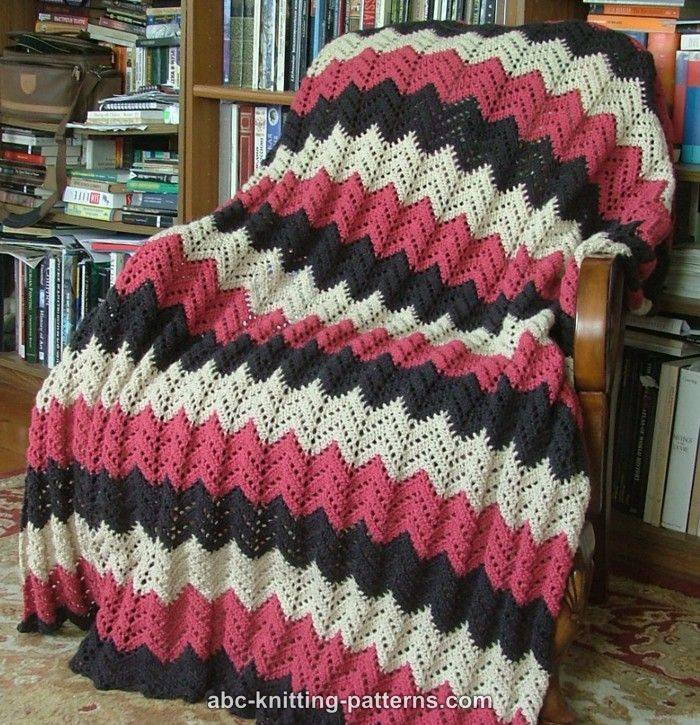 Best Of Knit Ripple Afghan Pattern Free Patterns Easy Knit Afghan Of Contemporary 50 Ideas Easy Knit Afghan