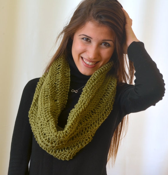Best Of Knit Scarf Designs and Patterns Knit Circle Scarf Of Brilliant 47 Photos Knit Circle Scarf