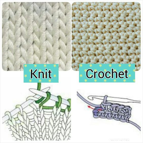 Best Of Knit Vs Crochet Ment Below which One You Like More Crochet Vs Knit Of Perfect 40 Images Crochet Vs Knit