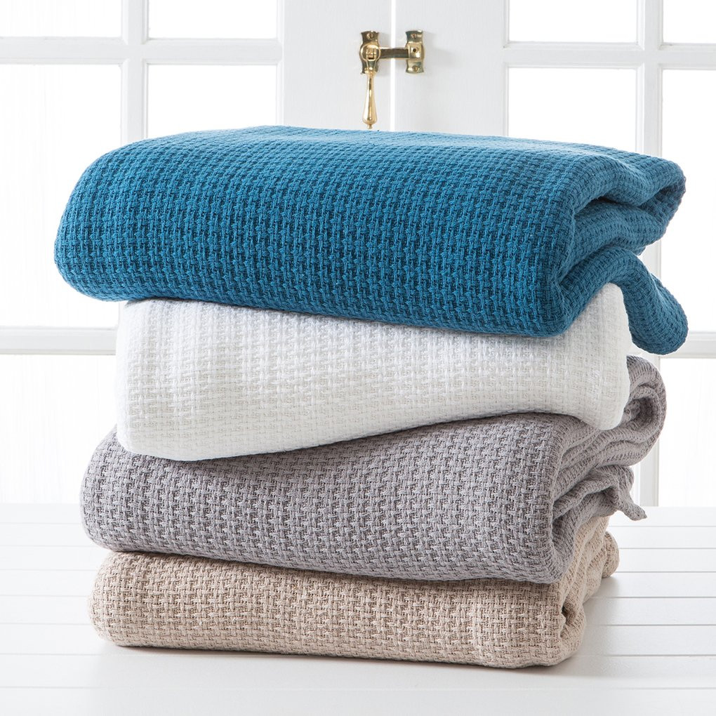 Best Of Knit Weave 360gsm Cotton Blanket Cotton Knit Blanket Of Innovative 42 Models Cotton Knit Blanket