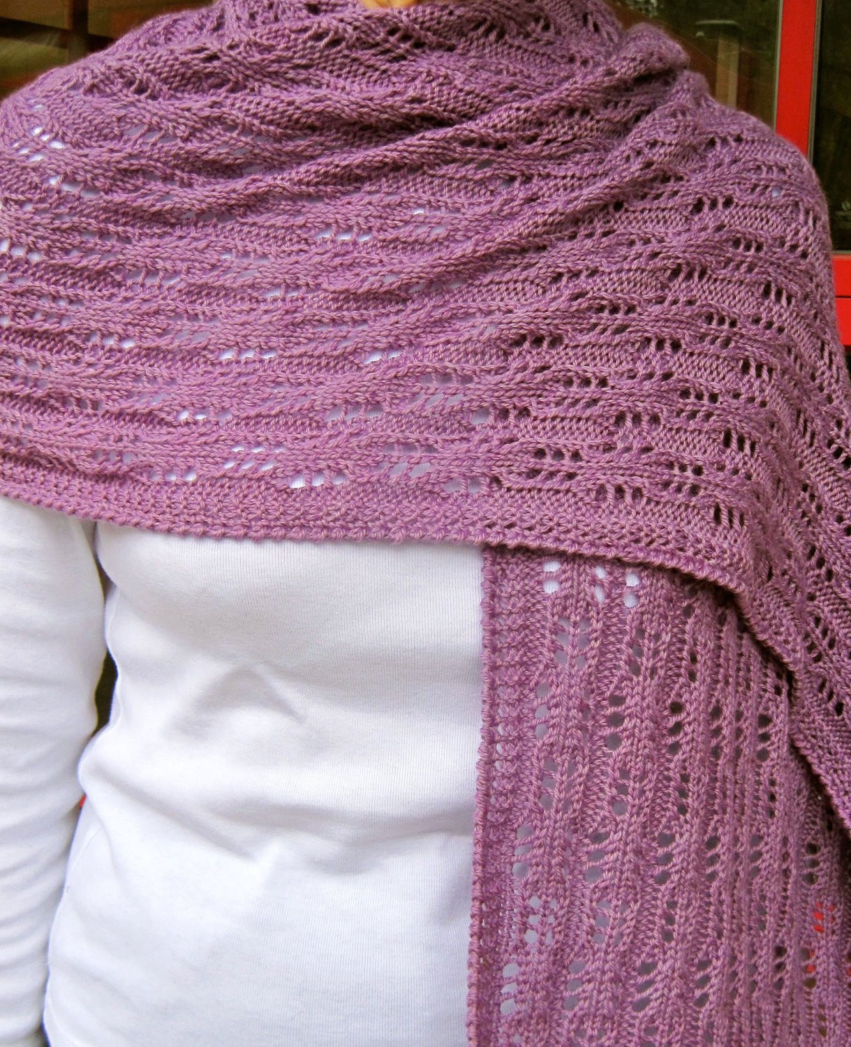 Best Of Knit Wrap Pattern Easy Eyelet Lace Shawl Knitting Pattern Easy Knit Shawl Of Fresh 44 Photos Easy Knit Shawl