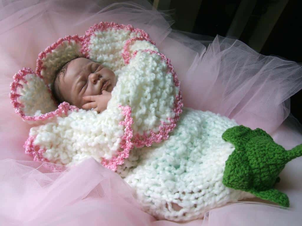 Best Of Knitted Bell Flower Cocoon Pattern Baby Cocoon Pattern Of Fresh 45 Images Baby Cocoon Pattern