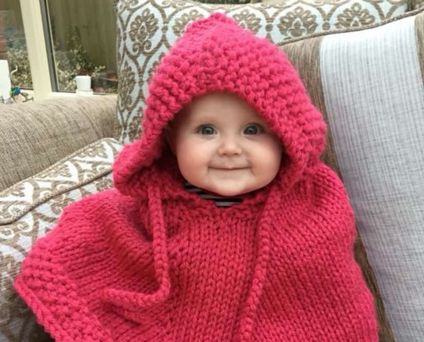 Best Of Knitted Hooded Baby Poncho Pattern Free Tutorials Baby Poncho Knitting Pattern Of Amazing 42 Pics Baby Poncho Knitting Pattern