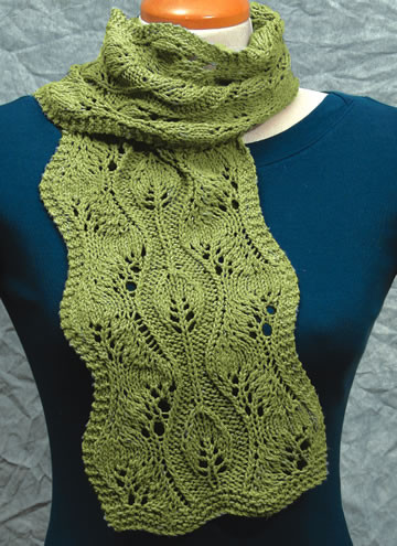 Best Of Knitted Leaf Pattern Stitch Lace Knit Scarf Of Delightful 46 Images Lace Knit Scarf