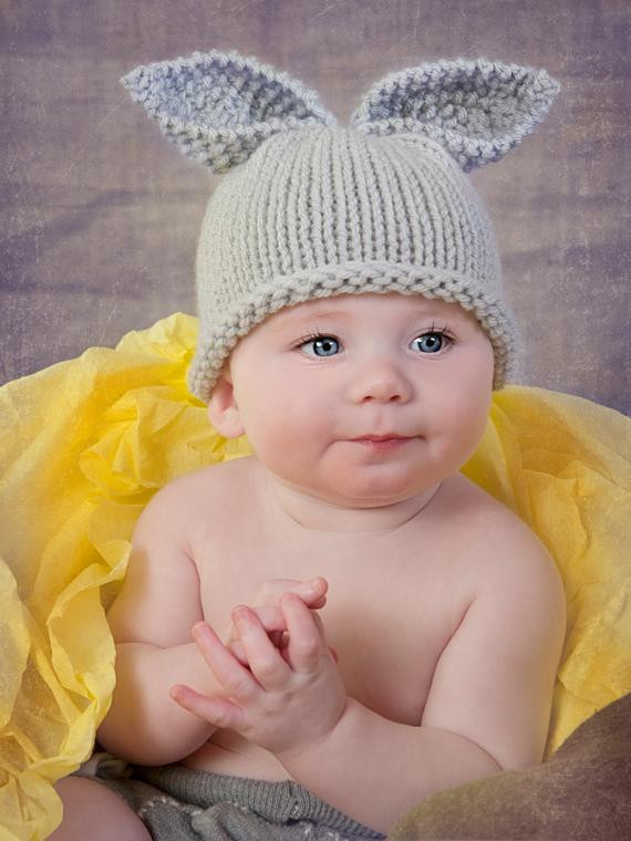 Best Of Knitted Newborn Baby Hat Easter Bunny Rabbit by Baby Bunny Hat Of Brilliant 47 Pictures Baby Bunny Hat