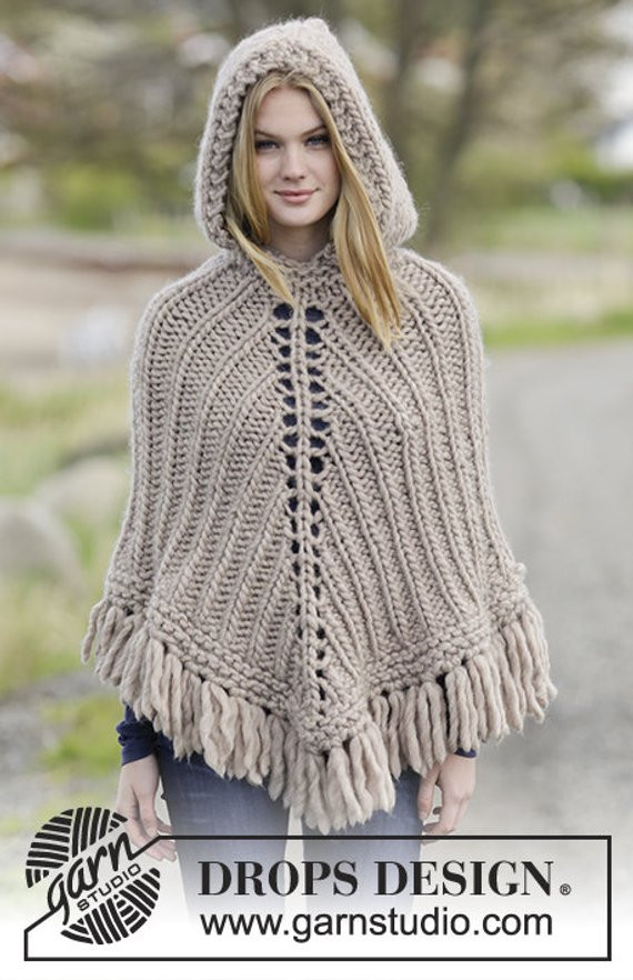 Best Of Knitted Poncho with Hood Hand Made Poncho Wool Poncho Crochet Poncho with Hood Of Fresh 40 Pictures Crochet Poncho with Hood